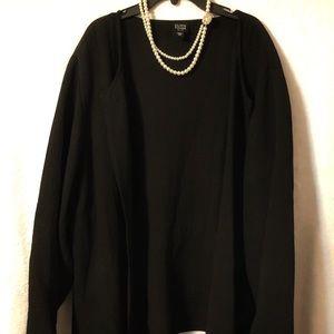Eileen Fisher 2XL Magnetic Black Blazer